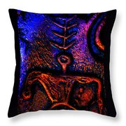 Warrior Guardian Of Truth Throw Pillow