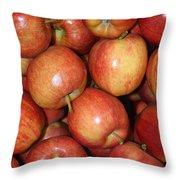 Washington Apples Throw Pillow