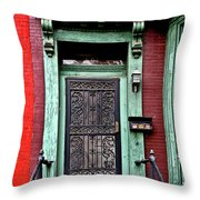 Washington Doorway Throw Pillow