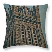 Washington Street Throw Pillow