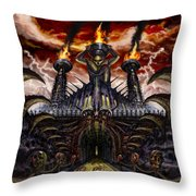 Wasted Existence Throw Pillow