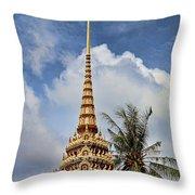 Wat Chalong 5 Throw Pillow