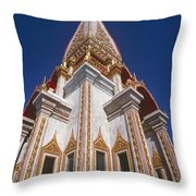 Wat Chalong Exterior Throw Pillow