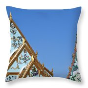Wat Chamni Hatthakan Gables Dthb934 Throw Pillow