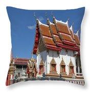 Wat Huai Phai Ubosot And Compound Dthu096 Throw Pillow