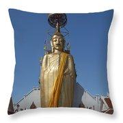 Wat Intarawiharn Phra Luang Phor Toh Standing Buddha Dthb294 Throw Pillow