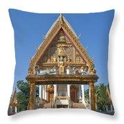 Wat Kan Luang Ubosot Gate Dthu181 Throw Pillow