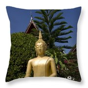 Wat Mai Buddha II Throw Pillow