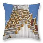 Wat Phitchaya Yatikaram Central Prang Dthb1189 Throw Pillow