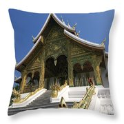 Wat Sen Dragons Throw Pillow
