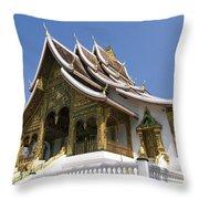 Wat Sen II Throw Pillow