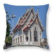 Wat Suan Phlu Ubosot Dthb1128 Throw Pillow