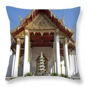Wat Suthat Principal Wiharn Dthb248 Throw Pillow