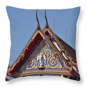 Wat Thewarat Kunchorn Gable Dthb286 Throw Pillow