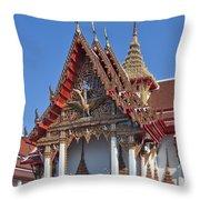 Wat Thewarat Kunchorn Wiharn Dthb292 Throw Pillow