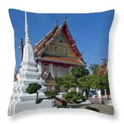 Wat Thong Nopphakhun Ubosot Dthb1169 Throw Pillow