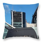 Watch Over The Cityt Throw Pillow