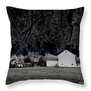Watched Throw Pillow