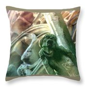 Watcher From Above Throw Pillow