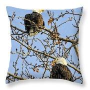 Watchers Throw Pillow
