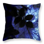 Watching Over Me In Darkness Throw Pillow