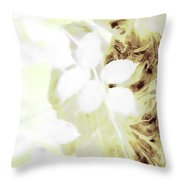 Watching Over Me In Light Throw Pillow