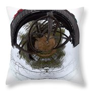 Watchtower Throw Pillow