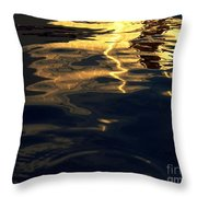 Water And Light Throw Pillow