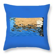 Water Art Throw Pillow by Kaye Menner