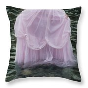 Water Bride Throw Pillow