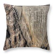 Water Dam Throw Pillow