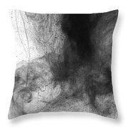 Water Dust Throw Pillow