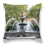 Water Liberation Throw Pillow