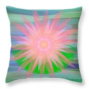 Water Lily 2012 Throw Pillow