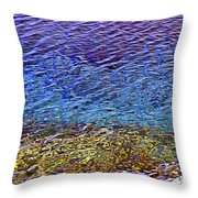 Water Surface  Throw Pillow