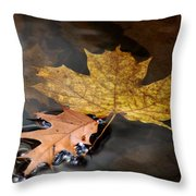 Water Tension Throw Pillow