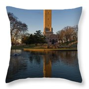 Water Tower Park 1 Throw Pillow