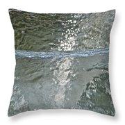 Water Wall Throw Pillow