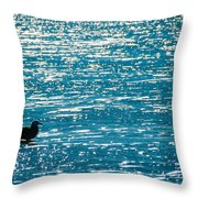 Water Water Everywhere Throw Pillow