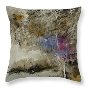 Watercolor 110122 Throw Pillow