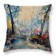 Watercolor 213020 Throw Pillow