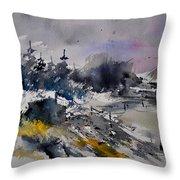 Watercolor 217021 Throw Pillow