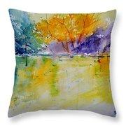 Watercolor 219041 Throw Pillow