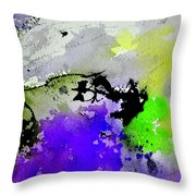 Watercolor 65654 Throw Pillow