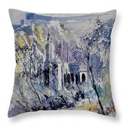 Watercolor Dinant 110172 Throw Pillow