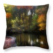 Watercolours 120 Throw Pillow