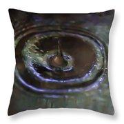 Waterdrop Throw Pillow