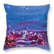 Waterdrop10 Throw Pillow