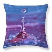 Waterdrop11 Throw Pillow