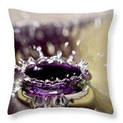 Waterdrop12 Throw Pillow